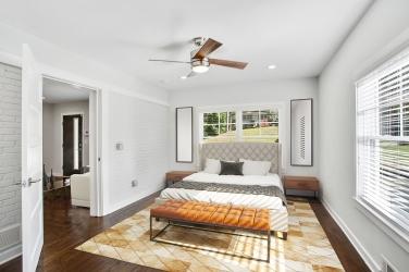 1staged master bedroom carport