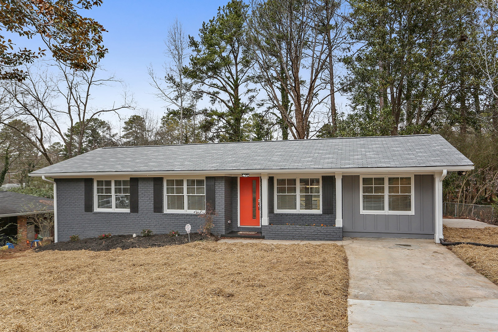 Mid Century Decatur Home For Rent Meadowbrook acres belvedere park Solid Source Realty Kevin Polite