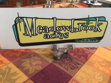 Decatur Neighborhood Meadowbrook Acres Street Sign Toppers