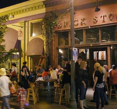 Brick store pub